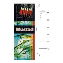 Mustad Piscator X -Red Rig T93