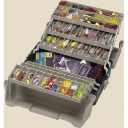 Plano 9606 six tray cantilever tackle box