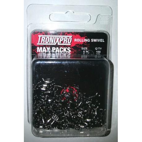 Tronix Pro Rolling Swivels Max Packs henrys