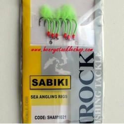 Shamrock Bleeding Gloworm Sabiki