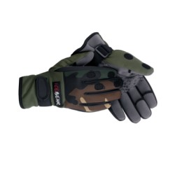 Neoprene Camo Fishing Glove