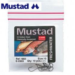 Mutad 1665 Freshwater Eyed Bronzed Hook