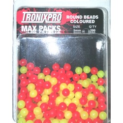 Tronixpro Max Packs Round Beads 3mm Coloured