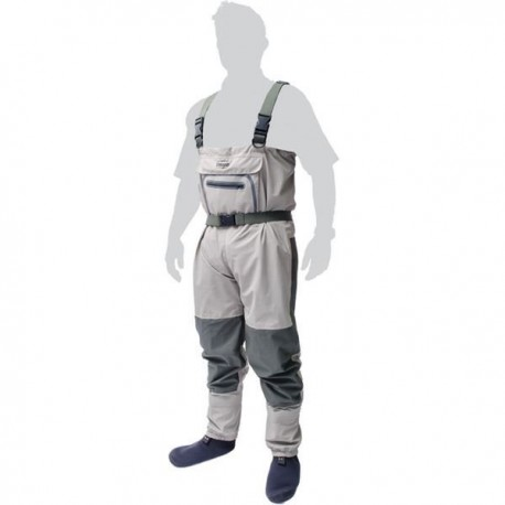 Leeda Volare Budget Breathable Chest Waders And Boots henrys