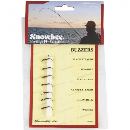 Snowbee Buzzers Fly Selection henrys