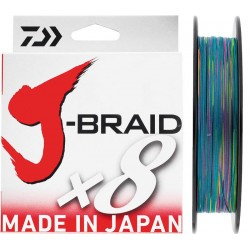 Daiwa J-Braid Braided Line 500m Multicolour