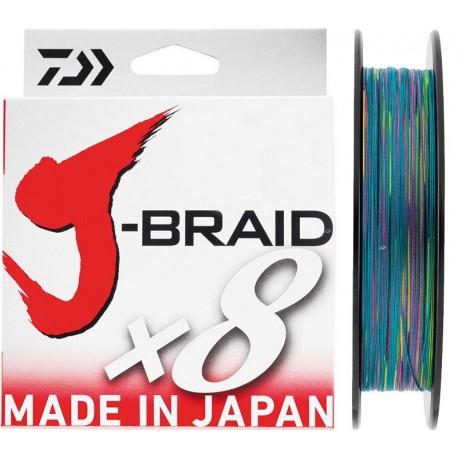 Daiwa J-Braid Braided Line 500m Multicolour henrys