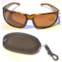 Jarvis Walker Sunglasses Brown Lens Black Frame