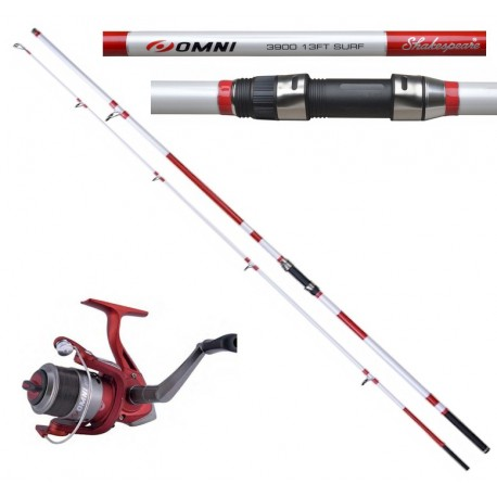 Shakespeare Omni Surf Rod and Reel Combo henrys