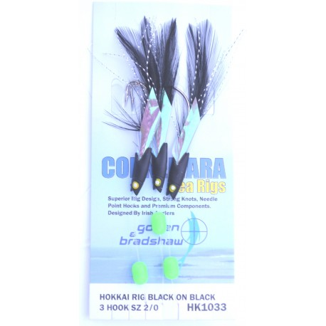 Gowen and Bradshaw Hokkai Rig Black on Black henrys
