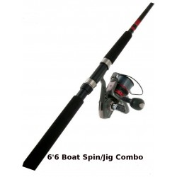 Combo Jarvis Walker Devil Boat Spin/Jig 6ft 6in