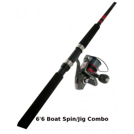 Combo Jarvis Walker Devil Boat Spin/Jig 6ft 6in henrys