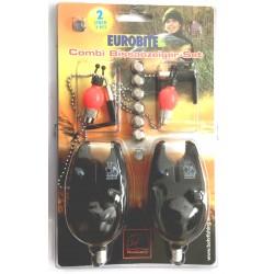 Behr 2 Bite Alarm Combi Set With Adjustable Hangers