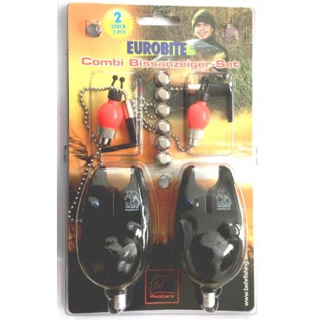 Behr 2 Bite Alarm Combi Set With Adjustable Hangers henrys