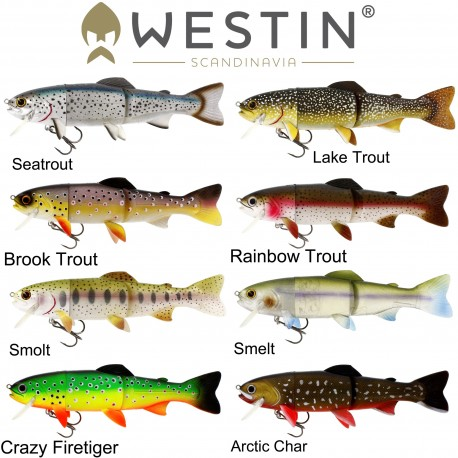 Westin Tommy The Trout 15cm Low Floating henrys