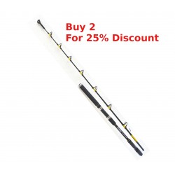 Silstar Sea Raptor Carbodynamic Roller Tip 20/40lb Boat Rod