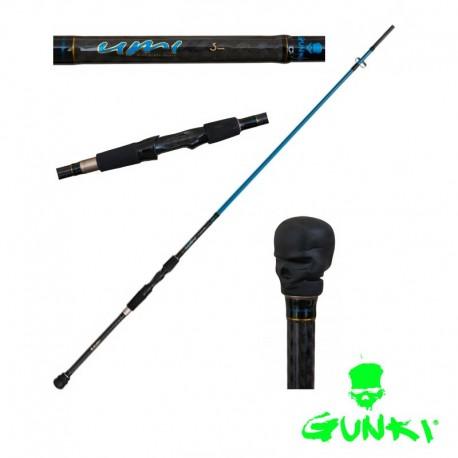 Pezon and Michel Gunki UMI 270XH Bass Spin Rod henrys