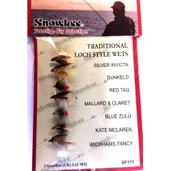 Snowbee Traditional Loch Style Wets Fly Selection