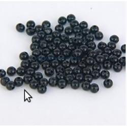 Gemini 3mm Black Beads