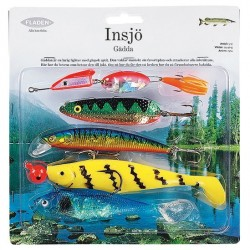 Fladen Lake Pike Lure  Kit 5pc