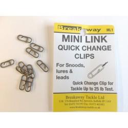 Breakaway Mini Link Quick Change Clips