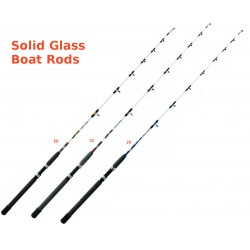 Evia East Cote Solid Glass Boat Rods
