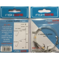 Fishzone 2 Hook Flapper Rig