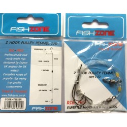 Fishzone Pulley Pennel Rig 2 Hook
