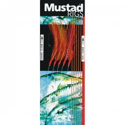 Mustad Red Mackerel and Pollack Sabiki Rig T57