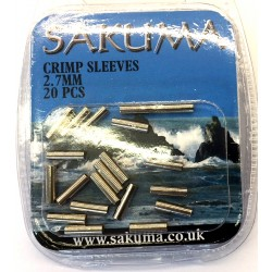 Sakuma Single Crimps - Sleeves