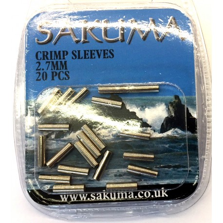 Sakuma Single Crimps - Sleeves henrys