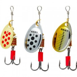 Sert Special Trout Spinner Kit 1