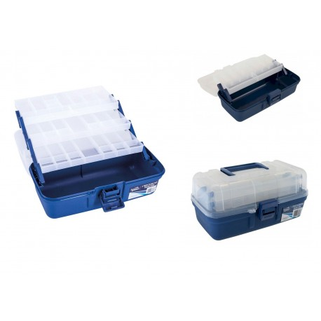 Jarvis Walker Clear Top Tackle Boxes henrys
