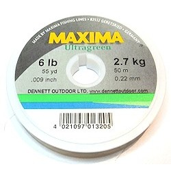 Maxima Ultragreen 50m Leader line