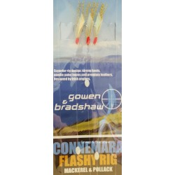 Gowen and Bradshaw Connemara Flashy Rig GOLD 3 kook