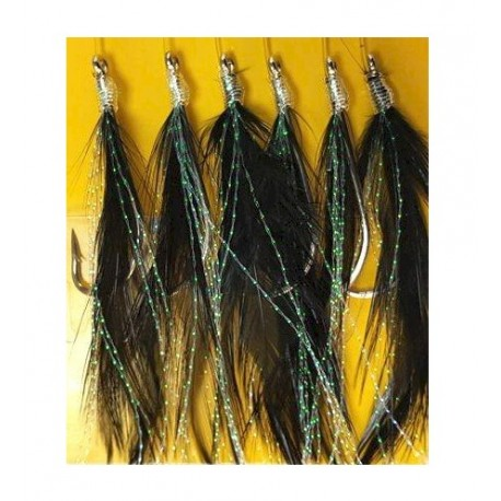 Shamrock Black Pollack and Mackerel Basher henrys