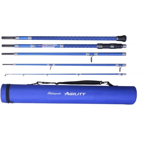Shakespeare Agility 2 EXP 5 piece Travel Beachcaster 11ft 6in henrys