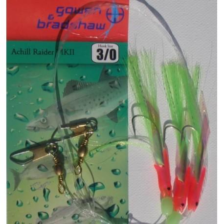 Gowen and Bradshaw Achill Raider MK2 Green Pink henrys