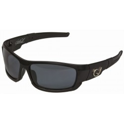 Mustad Hank Parker Polarized Sunglasses Black Smoke