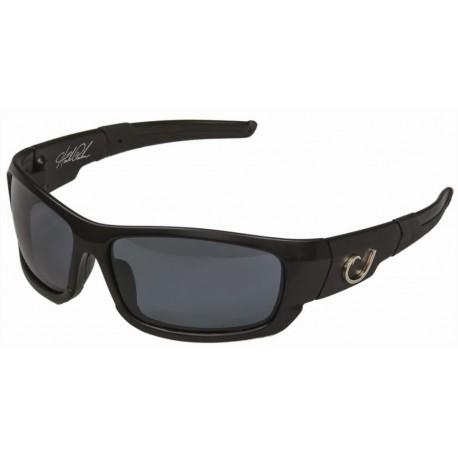Mustad Hank Parker Polarized Sunglasses Black Smoke henrys