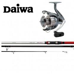 Daiwa Emcast 3 Piece Beachcaster Combos