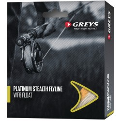 Greys Platinum Stealth Fly Line Intermediate Translucent
