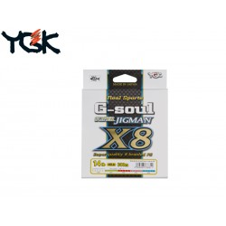 YGK G-Soul Super Jigman X8 Braid 16lb 200m Multicolour
