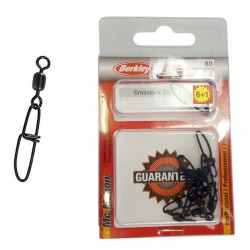 Berkley Mc Mahon Crosslock Snap Swivels Multi Pack