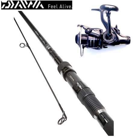 Daiwa Black Widow G50 Pike Carp Combo henrys