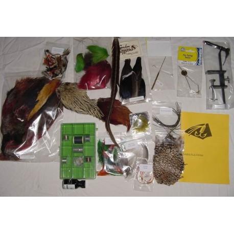 Irish Starter Complete Fly Tying Kit 2 henrys