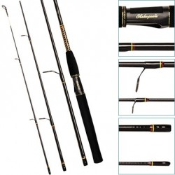 Shakespeare Ugly Stik 4 Piece 198m Travel Spin Rod