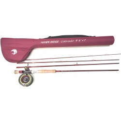 Hawk Ridge Colorado 24t Complete Fly Combo 9ft6 Line 7