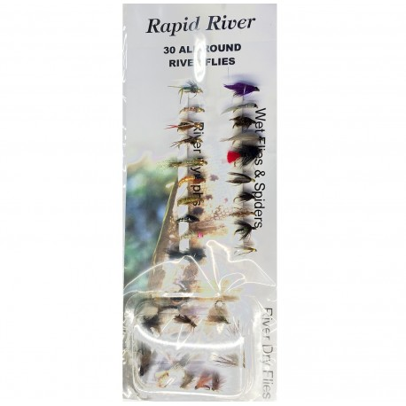 Rapid River 30 All Round River Fly Selection