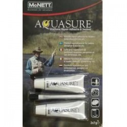 Aquasure Wader Repair Twin 7g Tubes